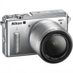 Фото - Nikon Nikon 1 AW1 + AW 11-27.5mm Silver - Подарочный сертификат на 1000 гривен !!!