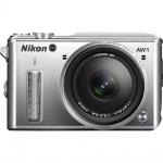 Фото Nikon Nikon 1 AW1 + AW 11-27.5mm Silver - Подарочный сертификат на 1000 гривен !!!