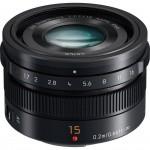 Фото - Panasonic Panasonic Micro 4/3 Lens 15mm F1.7 (H-X015E-K)