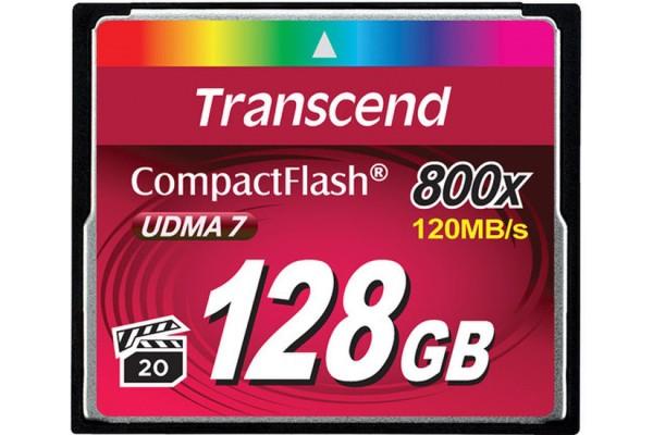 Купить -  Карта памяти Transcend CF 128GB(800X)(TS128GCF800)