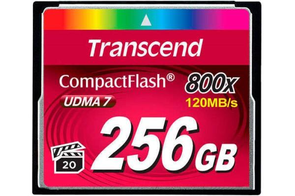 Купить -  Карта памяти Transcend CF 256GB(800X)(TS256GCF800)