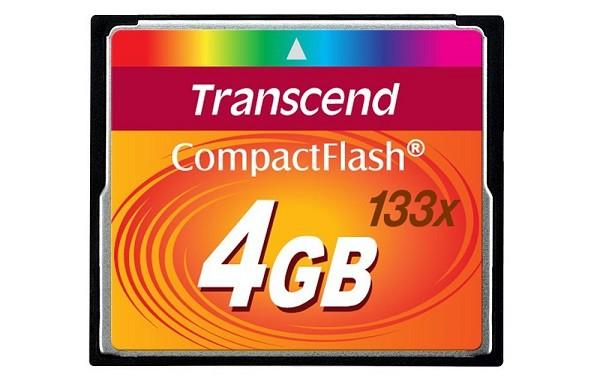 Купить -  Карта памяти Transcend CF 4GB(133X)(TS4GCF133)