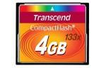 Фото -  Карта памяти Transcend CF 4GB(133X)(TS4GCF133)