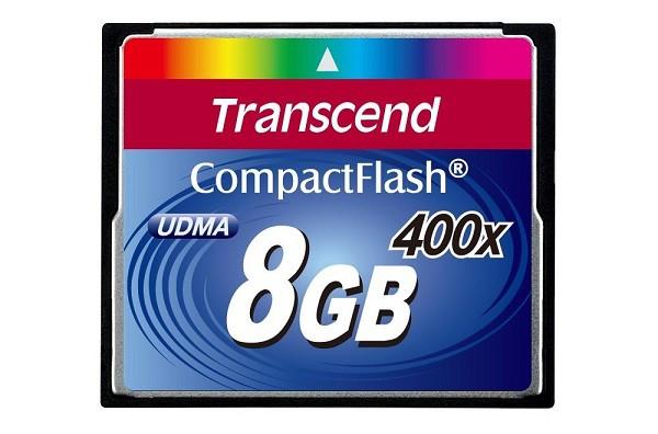 Купить -  Карта памяти Transcend CF 8GB(400X)(TS8GCF400)