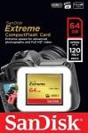 Фото -  Карта памяти SanDisk CF eXtreme 64GB R120/W60MB/s(SDCFXS-064G-X46)