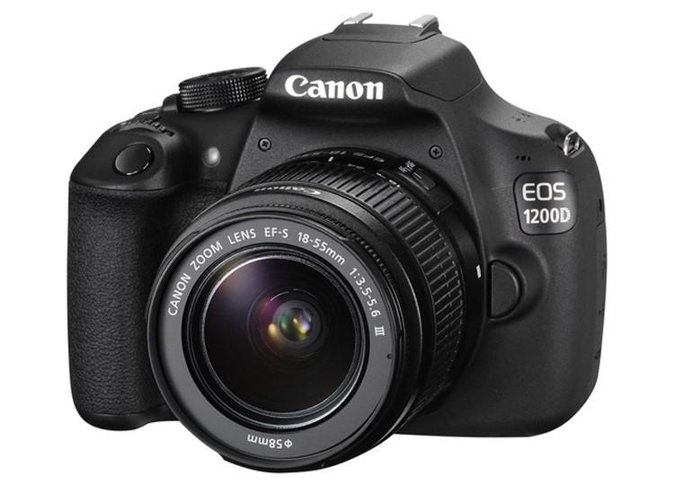 Купить -  Canon EOS 1200D + объектив 18-55mm f/3.5-5.6 DC III (Kit)