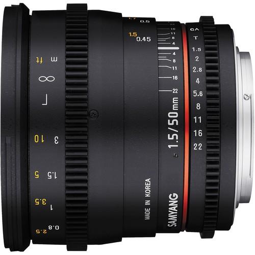Купить -  Samyang 50мм T1.5 AS UMC VDSLR Canon EF