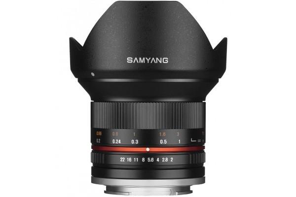 Купить -  Samyang 12mm F2.0 ED AS NCS CS Micro 4/3
