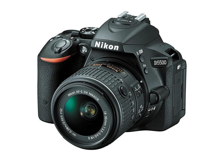 Купить - Nikon Nikon D5500 + объектив 18-55mm f/3.5-5.6G VR II (Kit)