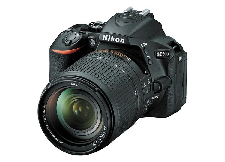 Купить - Nikon Nikon D5500 + объектив 18-140mm f/3.5-5.6G ED VR (Kit)