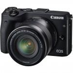 Фото - Canon Canon EOS M3 + EF-M 18-55 IS STM Bk (Официальная гарантия)