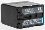 Фото -  Aккумулятор PowerPlant Sony NP-FM90/QM91 (DV00DV1030)
