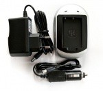 Фото -  Зарядное устройство PowerPlant Olympus Li-40B, Li-42B, D-Li63, KLIC-7006, EN-EL10, NP-45 (DV00DV2043)