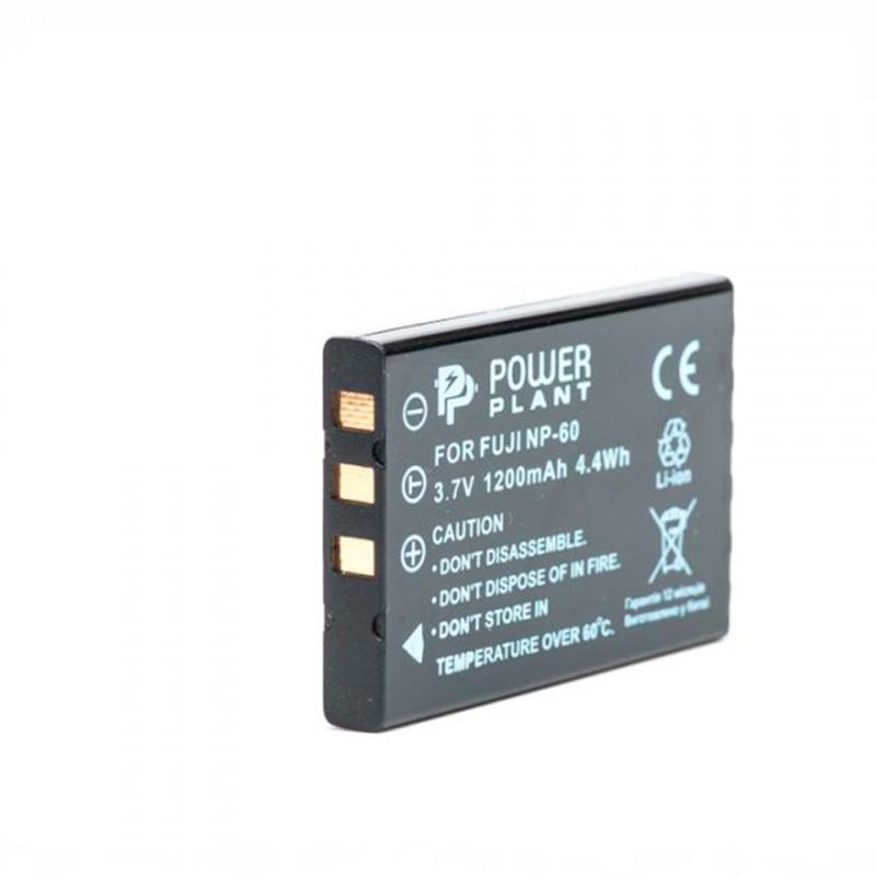 Купить -  Aккумулятор PowerPlant Fuji NP-60, SB-L1037, SB-1137, D-Li12, NP-30, KLIC-5000, LI-20B (DV00DV1047)