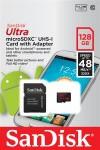 Фото -  Карта памяти SanDisk Ultra 128GB microSDXC Class 10 UHS-I 48MB/s Android (SDSDQUAN-128G-G4A)