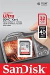 Фото -  Карта памяти SanDisk Ultra SDHC 32GB Class 10 UHS-I 40MB/s (SDSDUN-032G-G46)