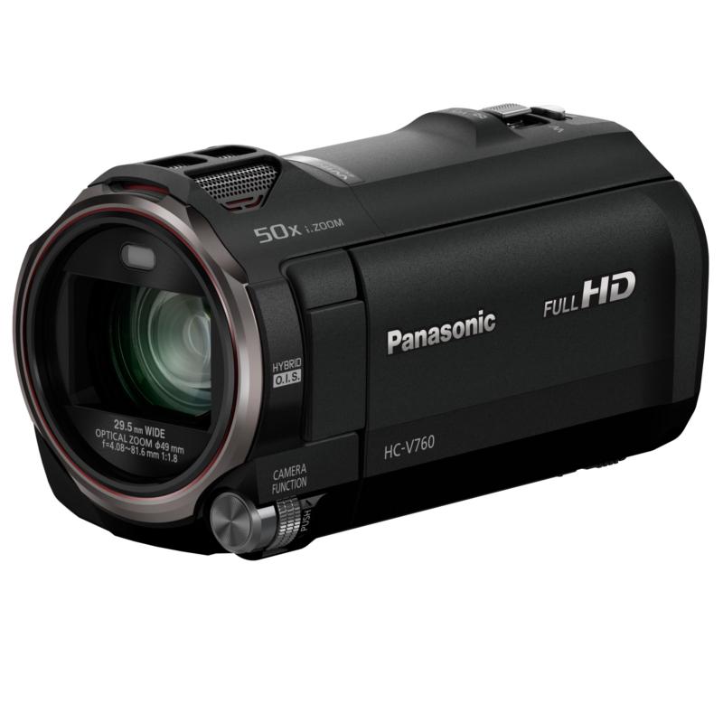 Купить - Panasonic Panasonic HC-V760 Black (HC-V760EE-K) + Аккумулятор PowerPlant Panasonic VW-VBT190!!!
