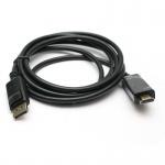 Фото -  Кабель-переходник PowerPlant DisplayPort - HDMI, 1.8m (KD00AS1237)