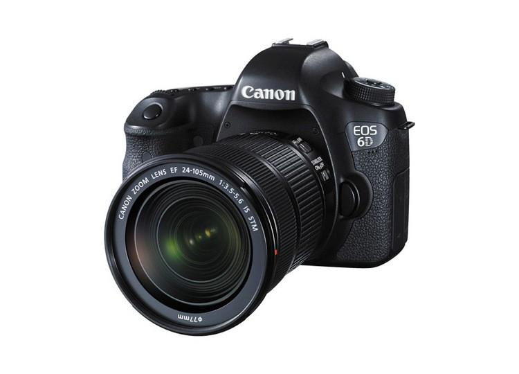 Купить -  Canon EOS 6D (WG) + объектив 24-105mm f/3.5-5.6 IS STM (Kit)