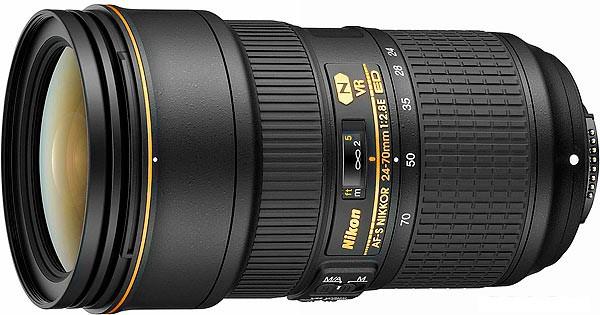 Купить -  Nikon  AF-S NIKKOR 24–70mm f/2.8E ED VR