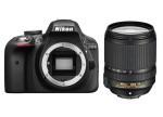 Фото - Nikon Nikon D3300 + объектив 18-140mm f/3.5-5.6G ED VR (Kit) Официальная гарантия!
