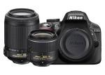 Фото - Nikon Nikon D3300 + объектив 18-55mm f/3.5-5.6G VR II + 55-200m VR II (Kit) Официальная гарантия!