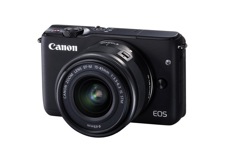Купить - Canon Canon EOS M10 + EF-M 15-45mm f/3.5-6.3 IS (Kit) Black