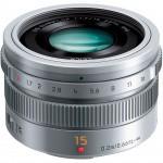 Фото - Panasonic Panasonic Micro 4/3 Lens 15mm Silver (H-X015E-S)  + Подарочный сертификат на 1000 грн!!!