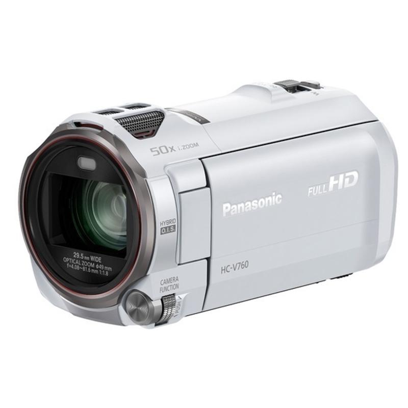 Купить - Panasonic Panasonic HC-V760 White (HC-V760EE-W)