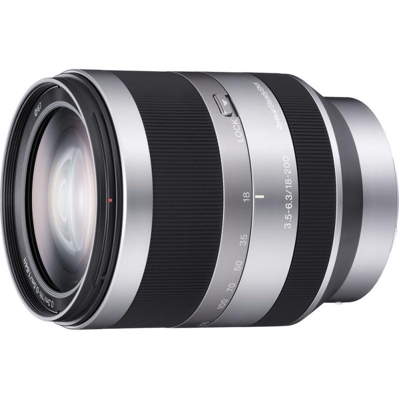 Купить - Sony Sony 18-200mm f/3.5-6.3 для камер NEX (SEL18200.AE)