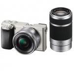 Фото - Sony Sony Alpha 6000 + объектив 16-50mm + 55-210mm Silver