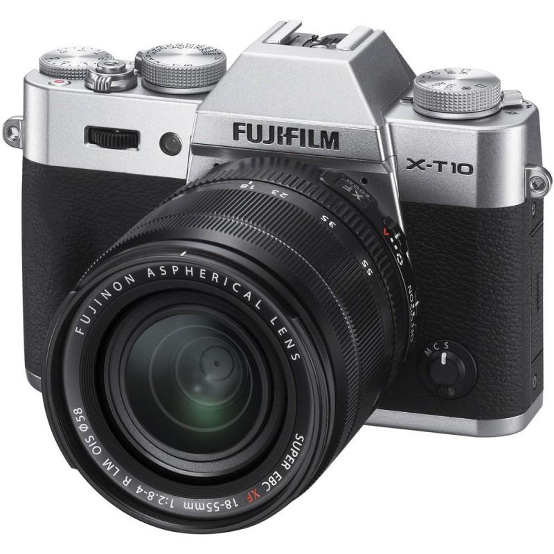 Купить - Fujifilm Fujifilm X-T10 + XF 18-55mm F2.8-4R Kit Silver