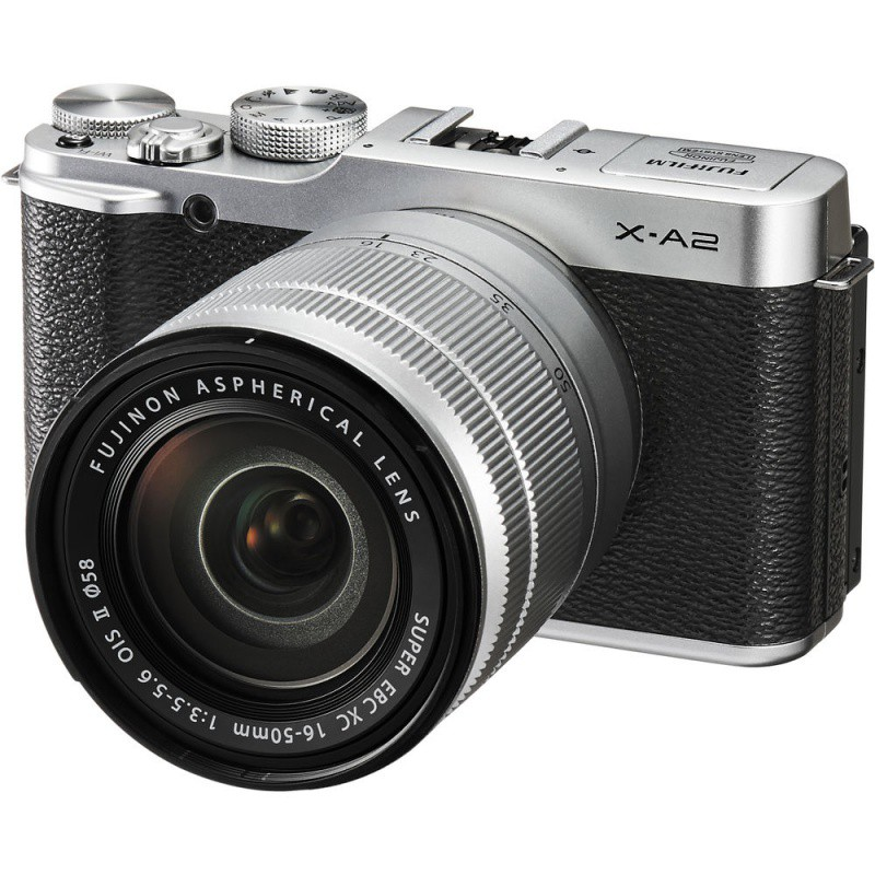 Купить - Fujifilm Fujifilm X-A2 + XC 16-50mm Kit Silver