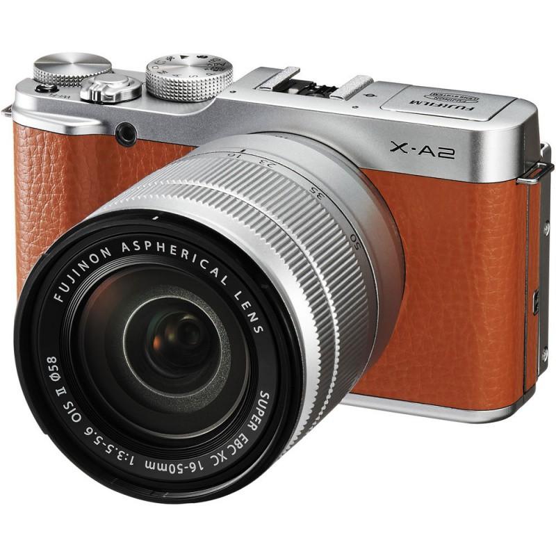 Купить - Fujifilm Fujifilm X-A2 + XC 16-50mm Kit Brown