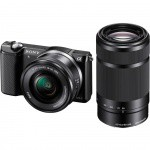 Фото - Sony Sony Alpha 5000 + 16-50mm + 55-210mm kit Black (ILCE5000YB.CEC)