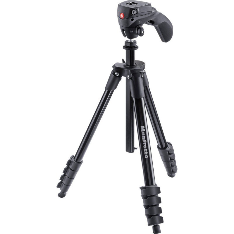 Купить -  Manfrotto Штатив COMPACT ACTION BLACK (MKCOMPACTACN-BK)