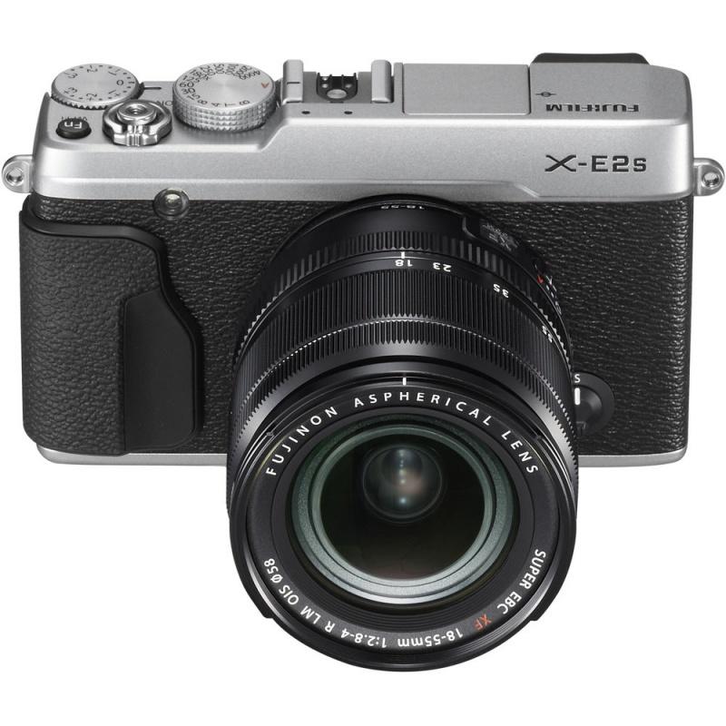 Купить - Fujifilm Fujifilm X-E2S + XF 18-55mm F2.8-4R Kit Silver