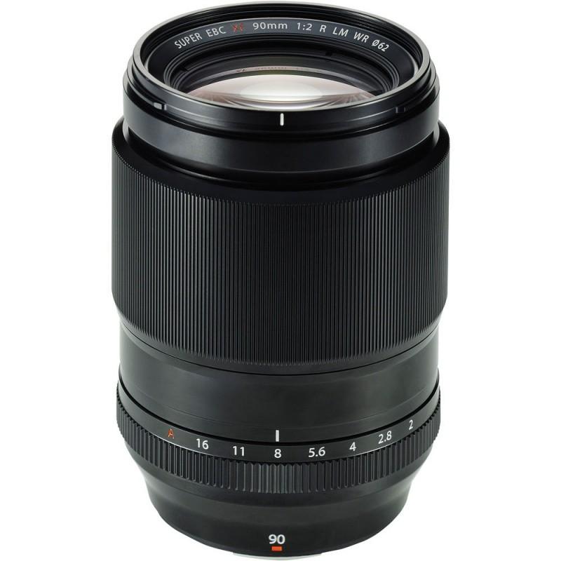 Купить - Fujifilm Объектив Fujifilm XF-90mm F2.0 Macro R LM WR (16463668)