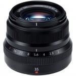 Фото - Fujifilm Объектив Fujifilm XF 35mm F2.0 Black (16481878)