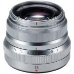 Фото - Fujifilm Объектив Fujifilm XF 35mm F2.0 Silver (16481880)