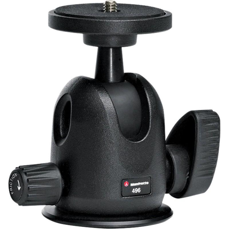 Купить -  Компактная шаровая головка Manfrotto 496 Compact Ball Head (496)