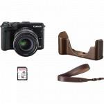 Фото - Canon Canon EOS M3 + EF-M 18-55mm STM Premium Kit