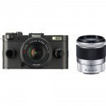 Фото -  Pentax Q-S1 Mirrorless Digital Camera with 5-15mm and 15-45mm Lenses (Black)