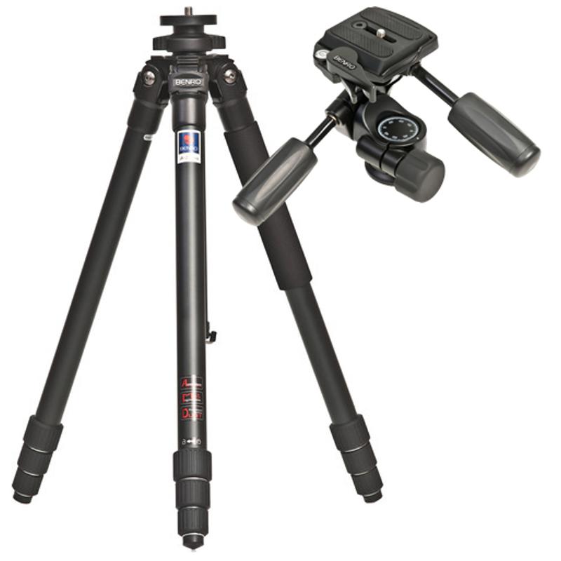 Купить - Benro Алюминиевый штатив (KIT) Benro A-258+HD-28 (A-258+HD-28)