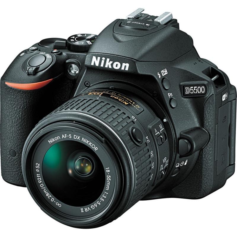 Купить - Nikon Nikon D5500 + AF-P 18–55VR KIT (VBA440K006)