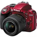 Фото - Nikon Nikon D3300 + AF-P 18-55VR Red KIT (VBA391K002)