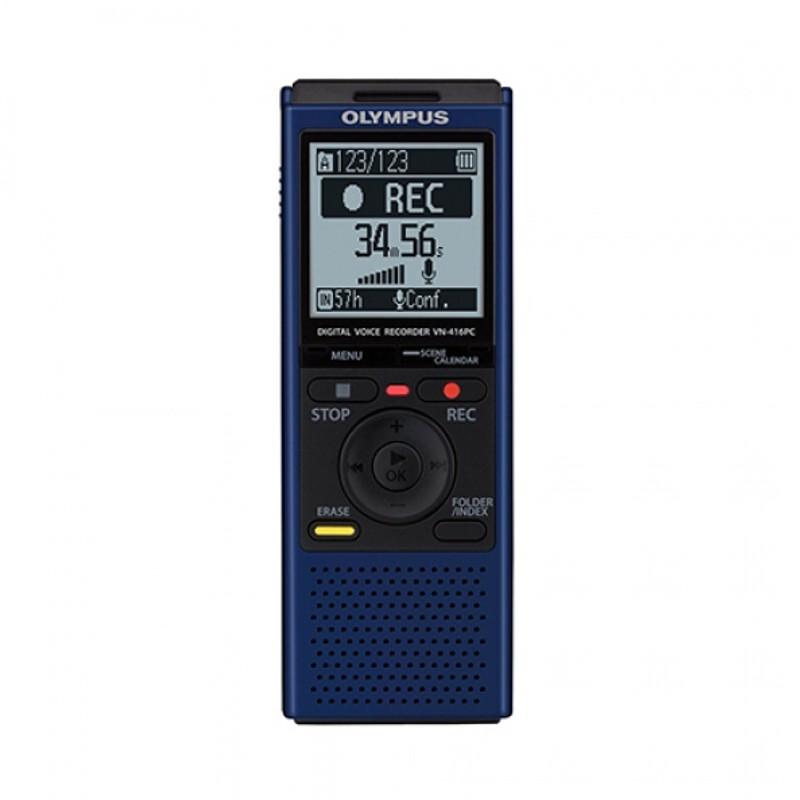Купить - Olympus OLYMPUS VN-416PC Blue (4GB) (V405241UE000)