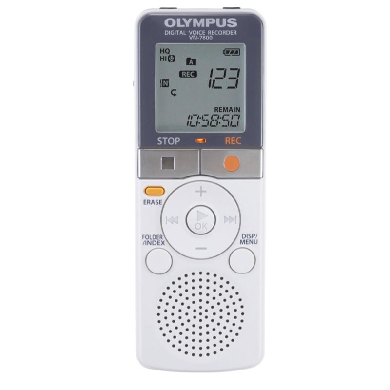 Купить - Olympus OLYMPUS VN-7800 4 GB (белый) (V404171WE000)