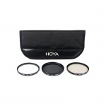 Фото -  Набор Hoya Digital Filter Kit 40.5mm + DSLR Battery Holder 2 (024066051967)  + Салфетка микрофибра Green Clean Silky Wipes 25 x 25 см в подарок!!!