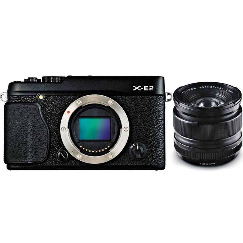 Купить - Fujifilm Fujifilm X-E2 + XF 14mm F2.8 R Kit Black